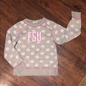 FSU girls sweatshirt size 6